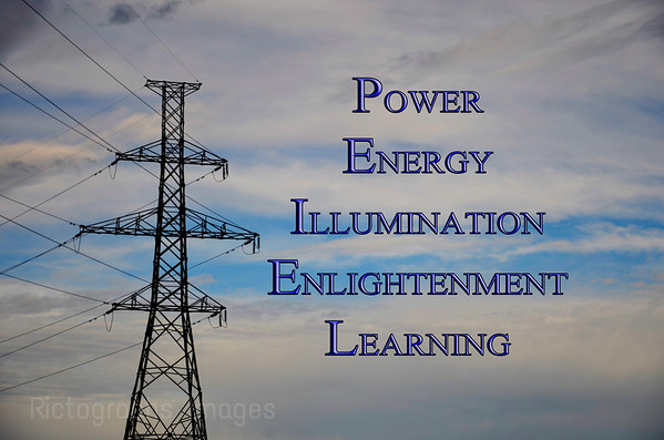 Power, Energy, Illumination, Enlightenment, Learning, Ric Evoy, Rictographs Images,