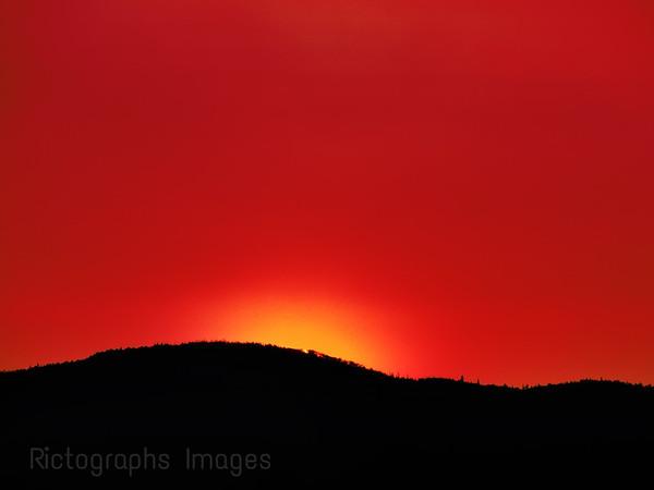 Setting Sun, Summer 2015, Ric Evoy