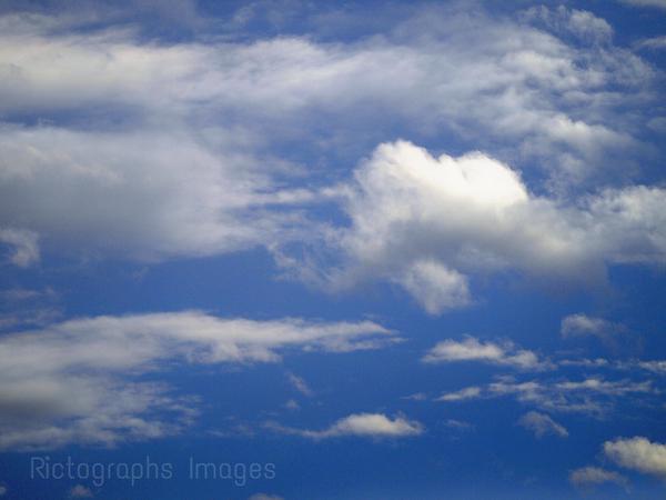 Beautiful Blue, Cloudy Sky
