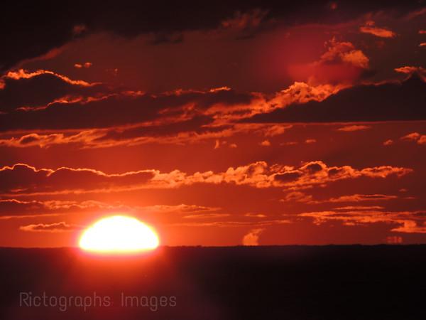 Sun Setting, Lake Huron
