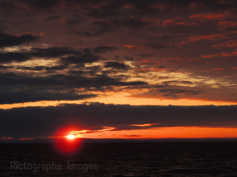 Lake Superior Sunrise Photography, Rictographs Images