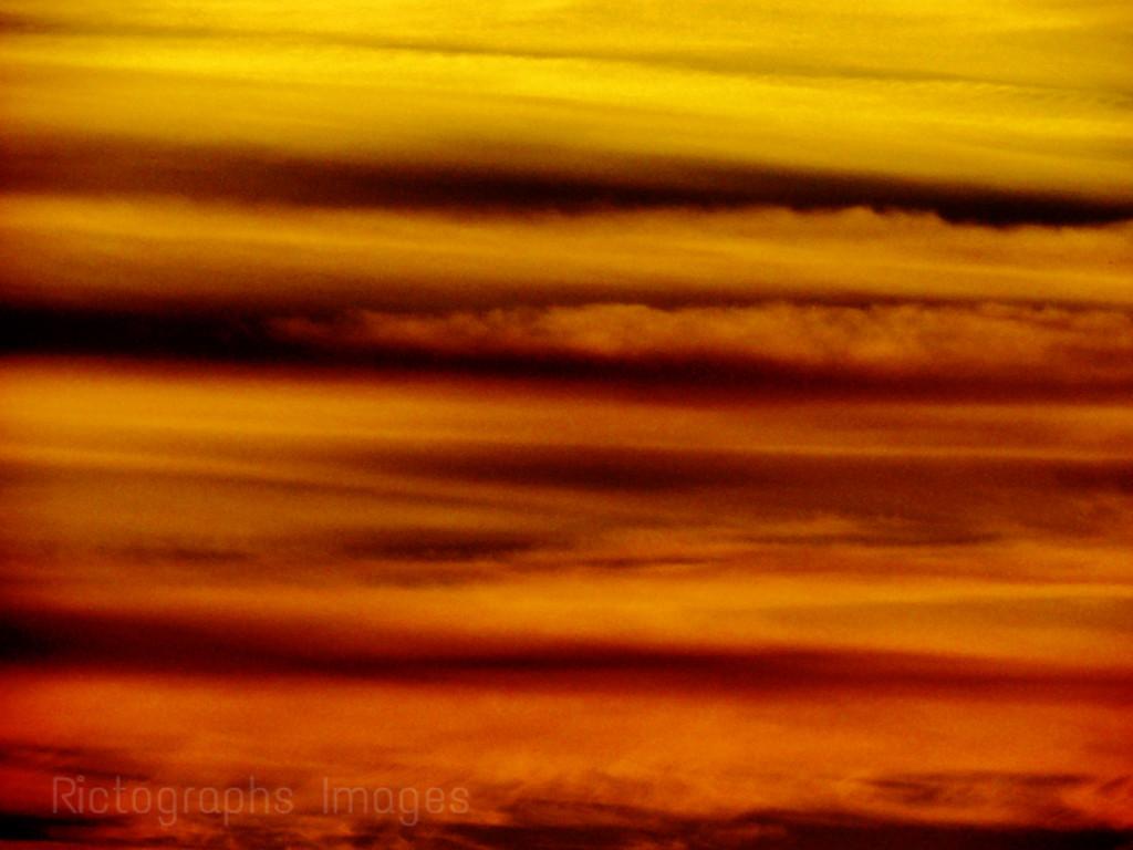 Colorful Cloudy Sky; Autumn 2015