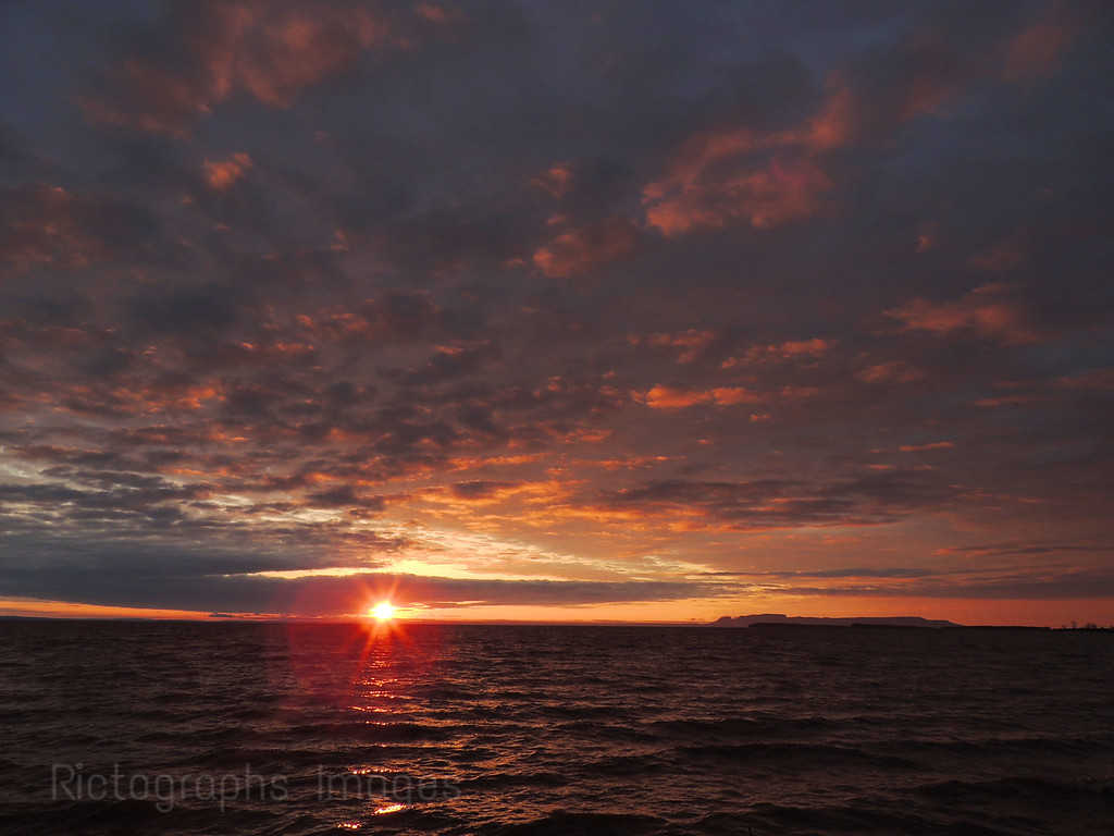Lake Superior, Thunder Bay, Ontario, Canada, Rictographs Images