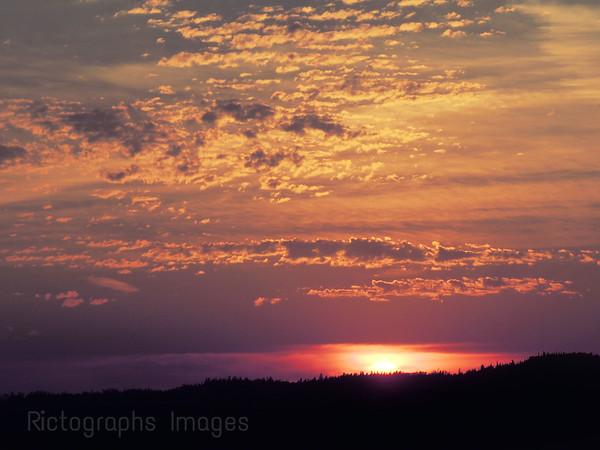 Beautiful Sunset,Rictographs Images