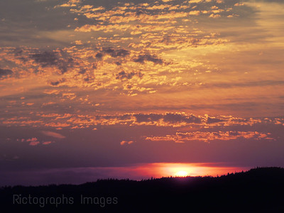 Beautiful Sunset,Rictographs Images