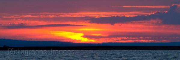 A Gitche-Gumee, Lake Superior Sunrise, Thunder Bay, Ontario, Canada