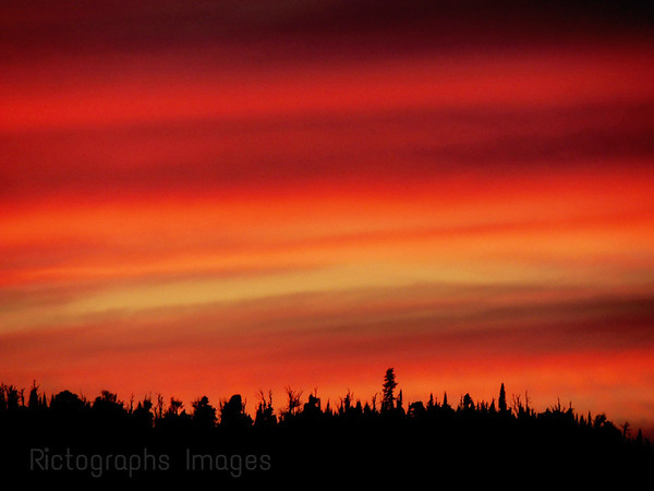 Fiery Sky, Rictographs Images