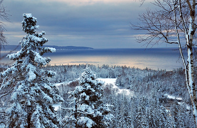 Lake Superior, Winter