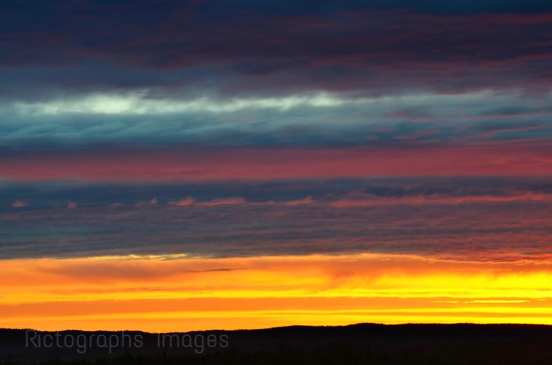 Summer  Sun Rise, June 2014,