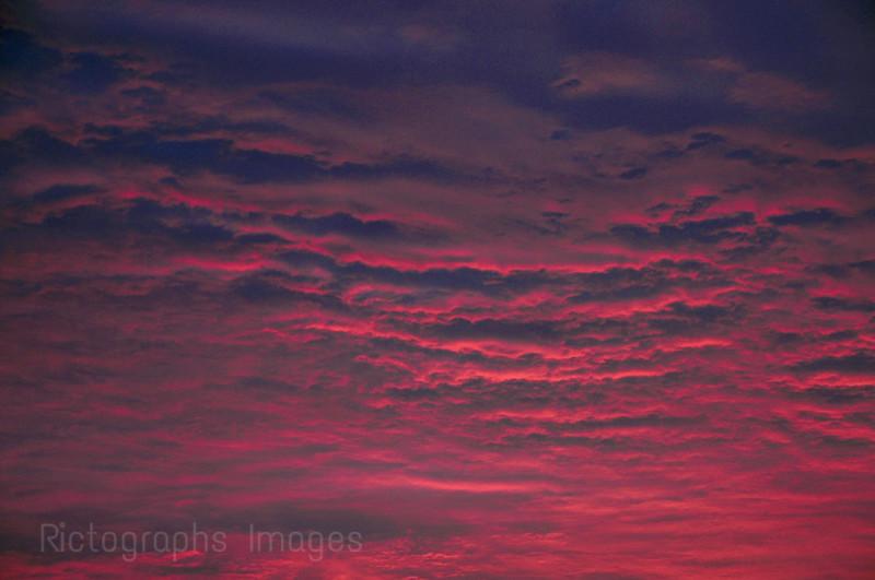 Pink & Blues Sky