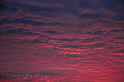 Colourful Cloudy Sky, Photography, Blue, Pink, 468