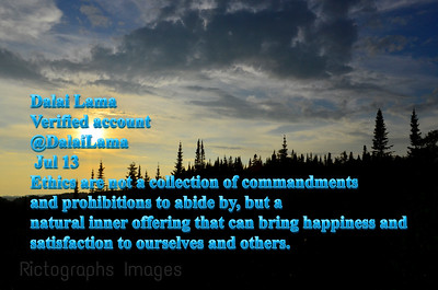 Photo Quote, Dalai Lama, Rictographs Images