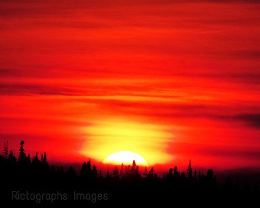 Summer Sunset, 2018, Rictographs Images