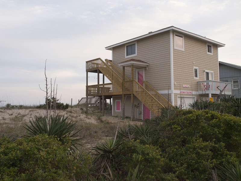 Armstrong 2404, our home for a week onTopsail Island, North Carolina.