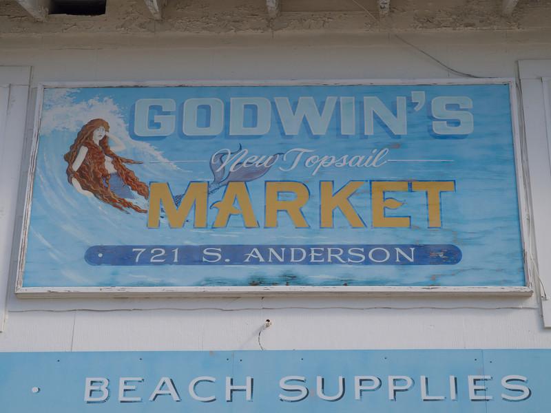 Topsail Beach town, Topsail Island, North Carolina.