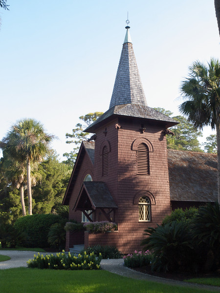 Faith Chapel (built 1904). Jekyll Island, Georgia