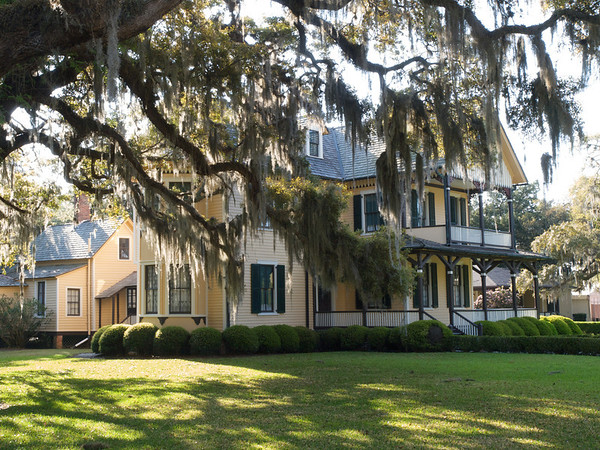 duBignon Cottage (built 1884). The first, and most modest of the island cottages, built by John Eugene DuBignon. Jekyll Island, Georgia