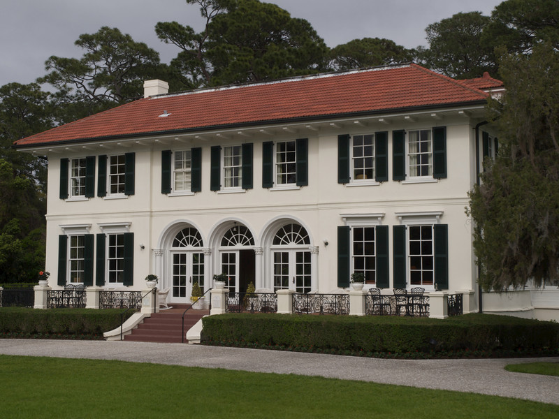 Cherokee Cottage (Dr. and Mrs. G. F. Shrady) (built 1904). Jekyll Island, Georgia