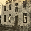 Horton House (built 1742) Historic Site. Undated historic photo. Jekyll Island, Georgia