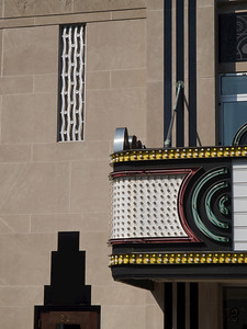 Riviera Theater, detail. Charleston, South Carolina