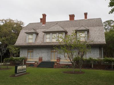 Mistletoe Cottage (Henry Kirke Porter) (built 1900). Jekyll Island, Georgia