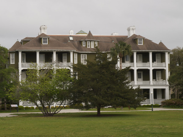 San Souci Cottage (J.P. Morgan) (built 1896). Jekyll Island, Georgia