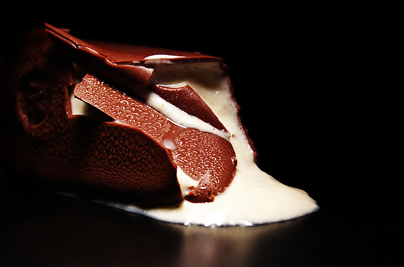 melted magnum bar