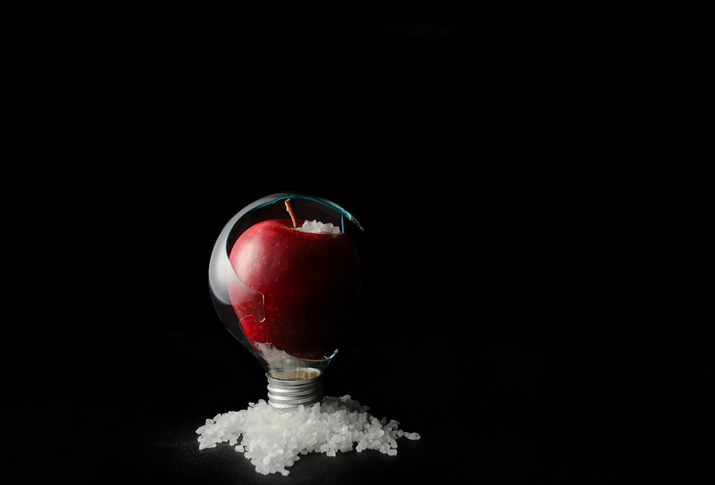 snow...glass...apples...III