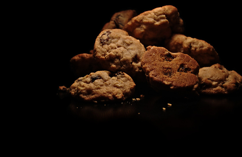 cookied raisins