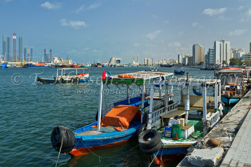 The facilities at Port Khalid in Sharjah, UAE.