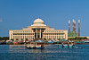 The Port Khalid authority customs building in Sharjah, UAE.