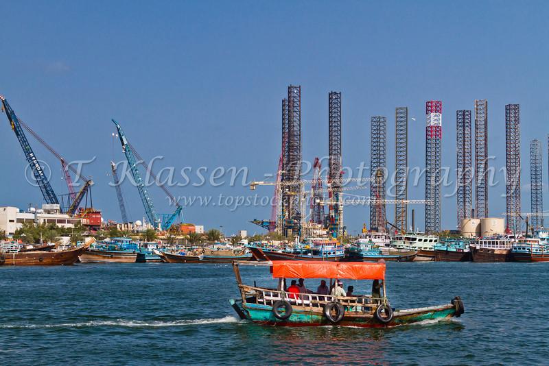 The facilities at Port Khalid in Sharjah, UAE.