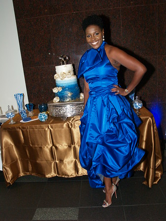 Sharon Anthony's 50 Shades of Blue 50th Birthday Party