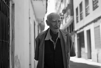 Old man in Barcelona