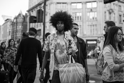 Oxford Circus Street Photography