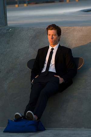 Olympic Legend Shaun White Seen In Venice.