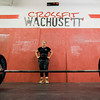 Shauna Staveley works out at Crossfit Wachusett early Wednesday morning. SENTINEL & ENTERPRISE / Ashley Green