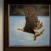 Nice Catch, an oil painting by Shawn Faust