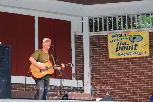 Shawn Mullins Front Porch Music Series Coburn Park Lebanon NH