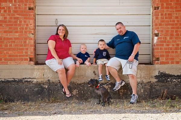 Thompson Family 2012