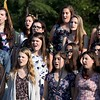 DAVID BORRELLI - THE CENTRAL RECORD<br /> The Shawnee Chorus performs at the Shawnee High School Graduation