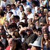 DAVID BORRELLI - THE CENTRAL RECORD<br /> Family and friends look on at the Shawnee High School Graduation