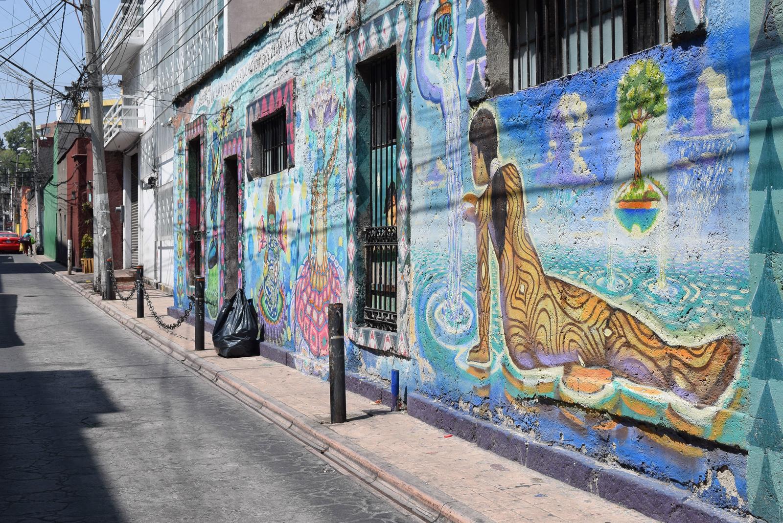 San Miguel Chapultepec Street Art