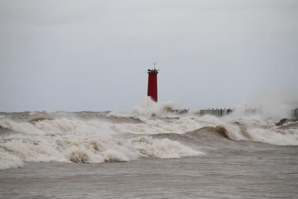 Hurricane Sandy Visits Sheboygan