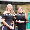 EEjob 13/04/2017 SOCIAL Sheena's Boutique, Oliver Plunkett Street, Customer evening of opera and glamour fashion show.  Pictured outside Sheena's Boutique, Oliver Plunkett Street l-r Carol Flynn, Seri McElhenney. Picture: Andy Jay