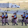 """Scotland the Brave,"" was played by the Salt Lake Scots Bagpipe Band as the Scottish flag was raised during the medals ceremonies."