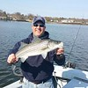 nephew Frank and a Striped Bass