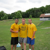 Bill, Adam and Jay after winning a flag football tournament in Nottingham, UK on 7-24-10.