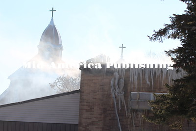 Fire at Sacred Heart Parish Center: The aftermath