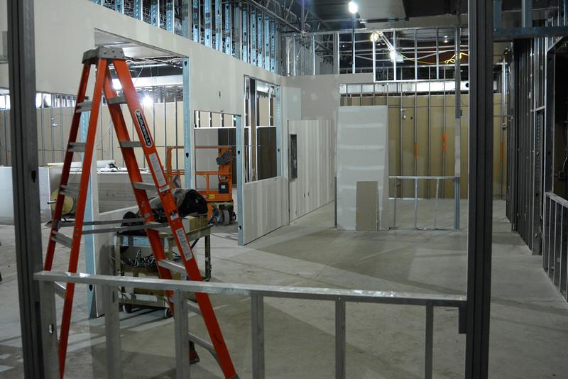 Shelby Street Campus progress as of Feb. 16.